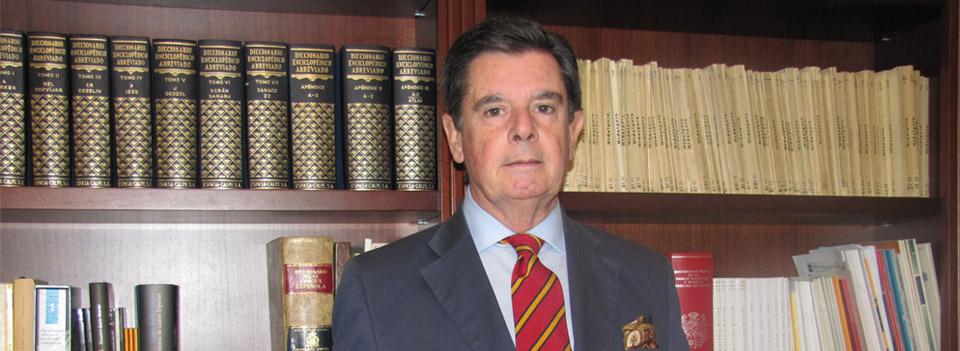 Manuel Ladrón de Guevara e Isasa, nuevo Académico de Número